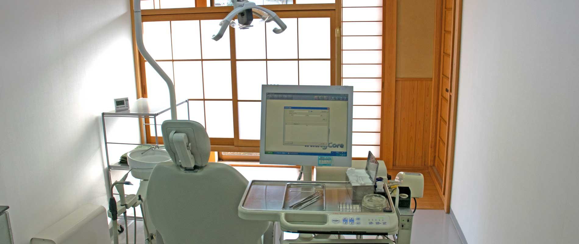 池田歯科医院の診察室