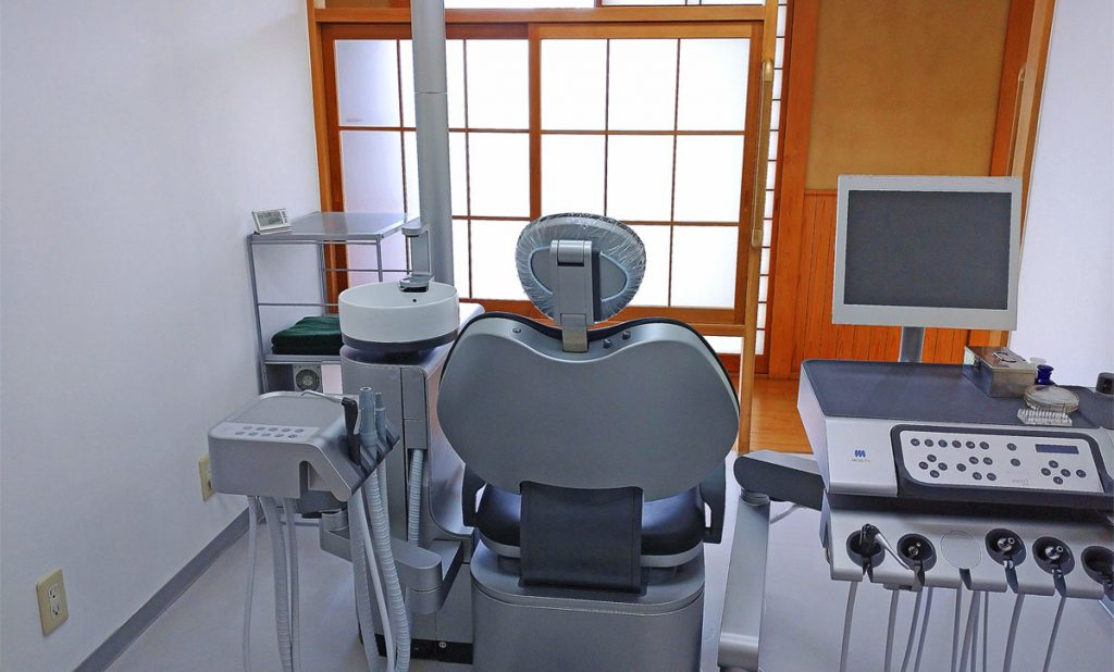 池田歯科医院の新しい診察台